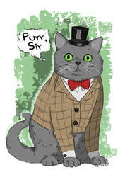 Purr, sir by Rimfrost
