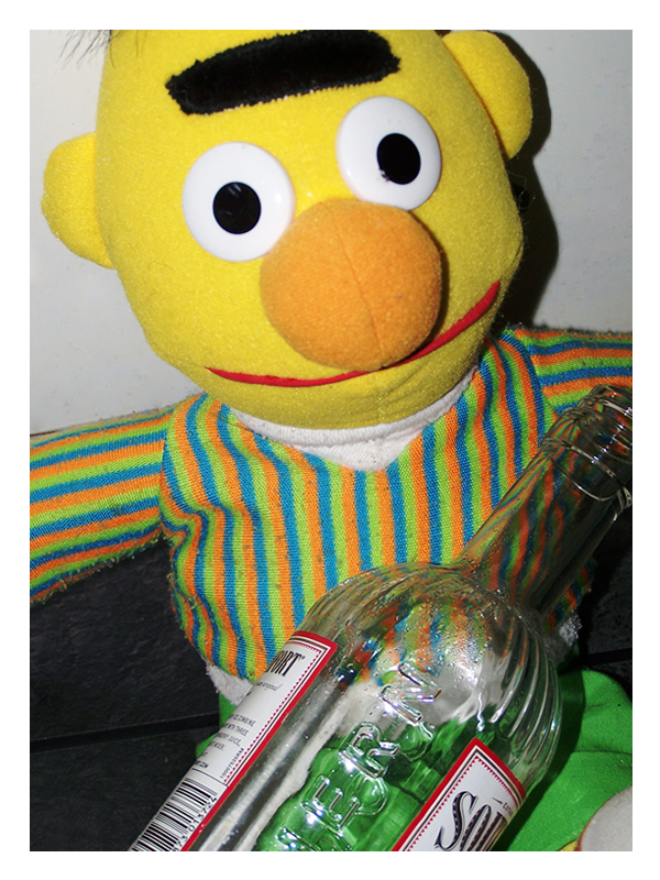 Drunk Bert By Maggot Jelly On Deviantart