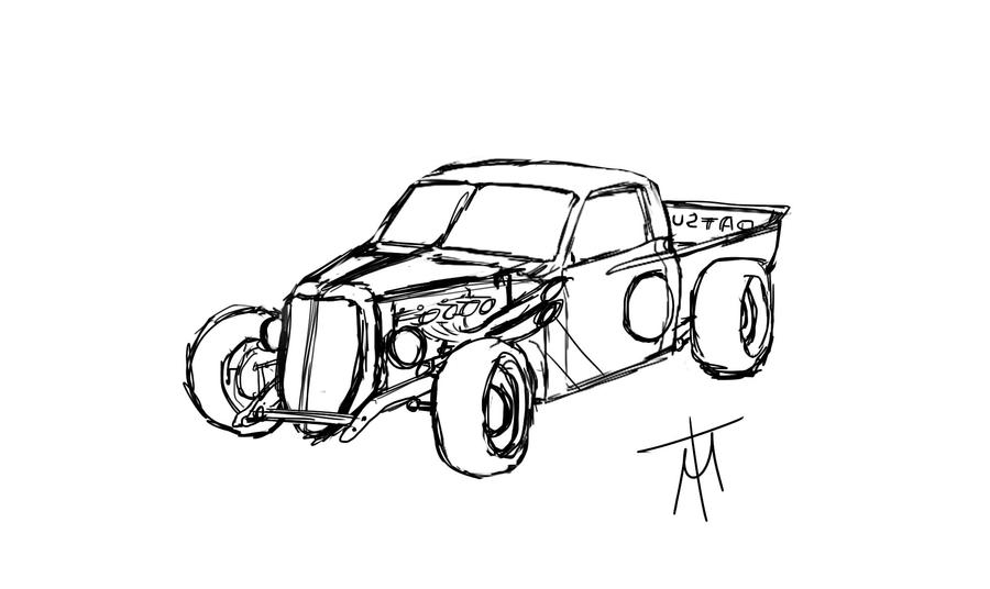 i got this idea for a custom 620 truck    - 620