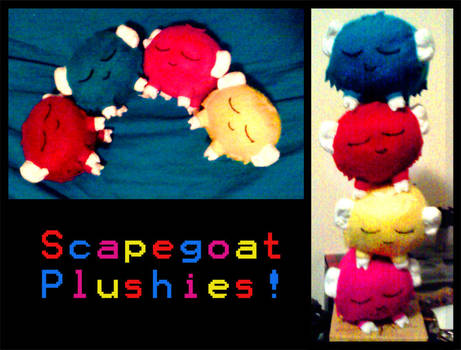 scapegoat plushies 2