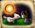 Kuni and Chibi