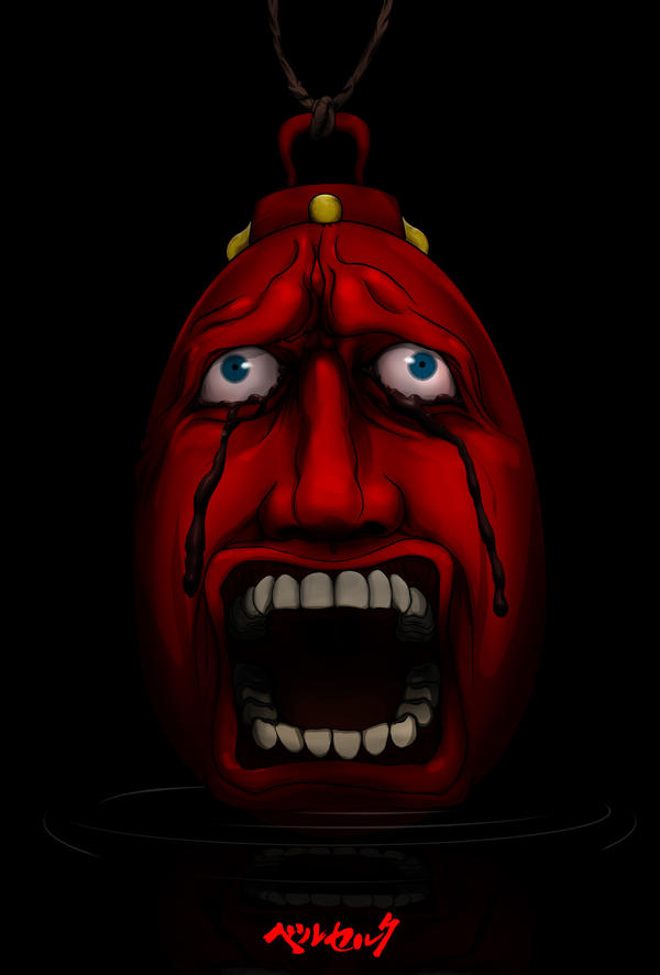 Crimson Behelit By Flangeloni