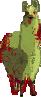 Llama Zombie by vladimir-senestrari