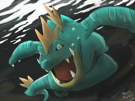 Pokemon: Feraligatr by mark331