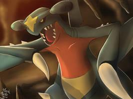 Pokemon: Garchomp by mark331