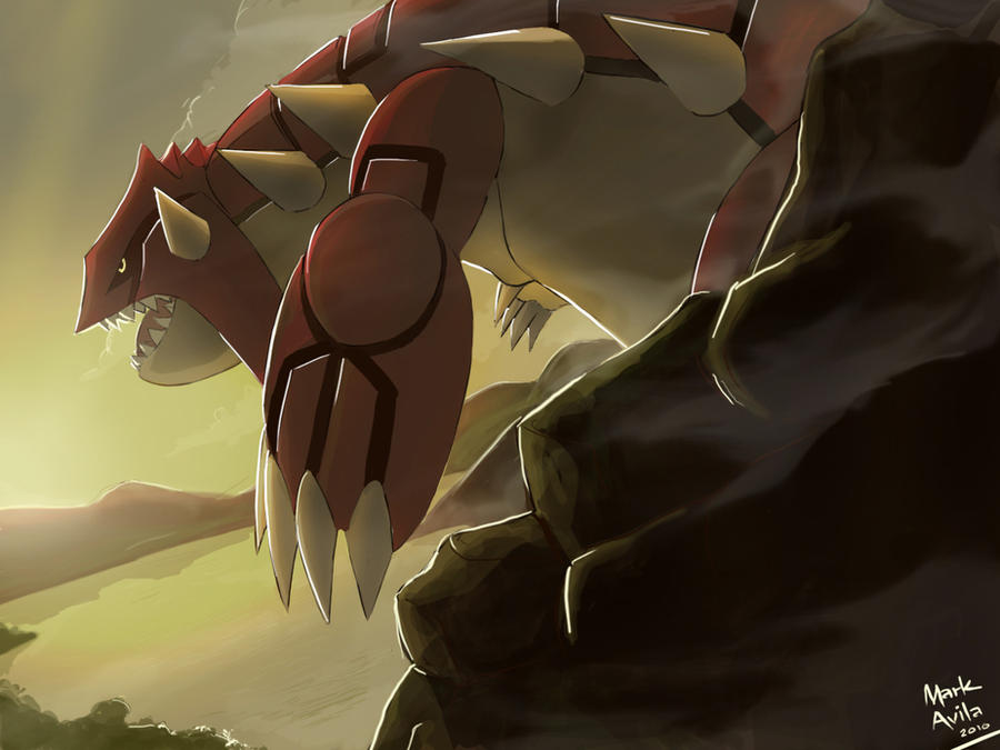 Pokemon  Groudon by ma...