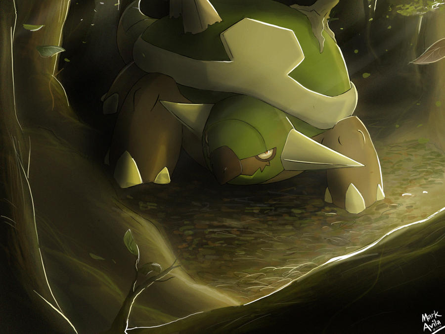 Pokemon: Torterra by mark331