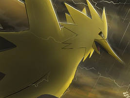 Pokemon: Zapdos by mark331