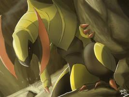 Pokemon: Haxorus by mark331