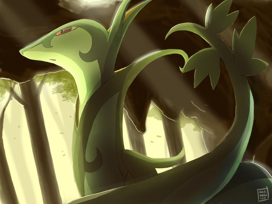 Pokemon: Serperior by mark331 on DeviantArt