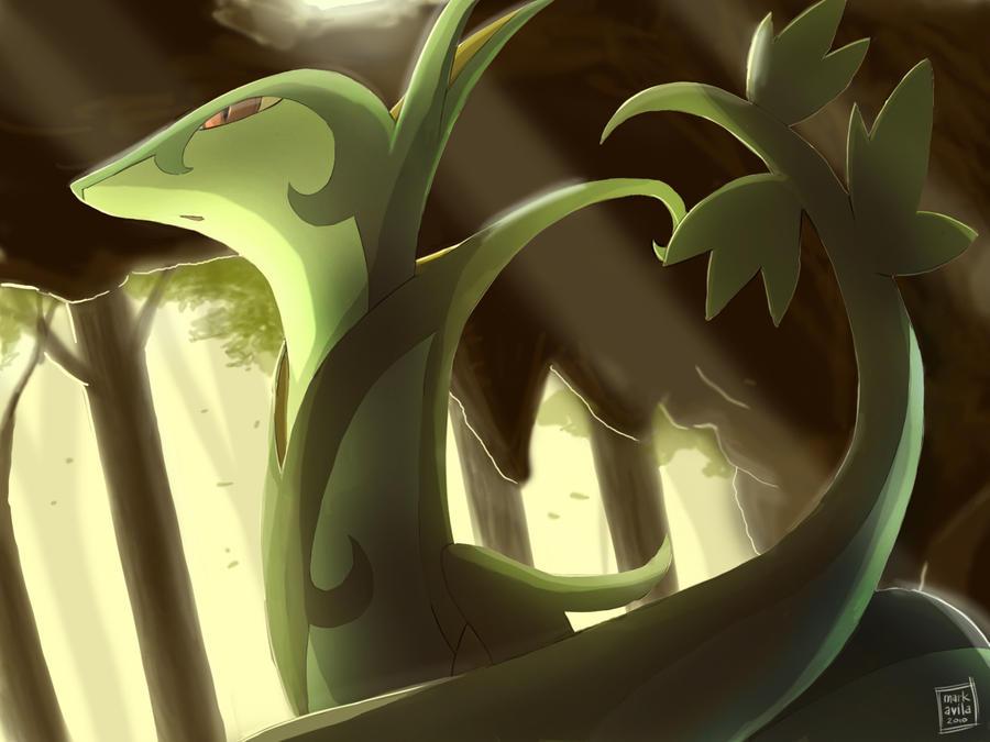 Pokemon: Serperior by mark331