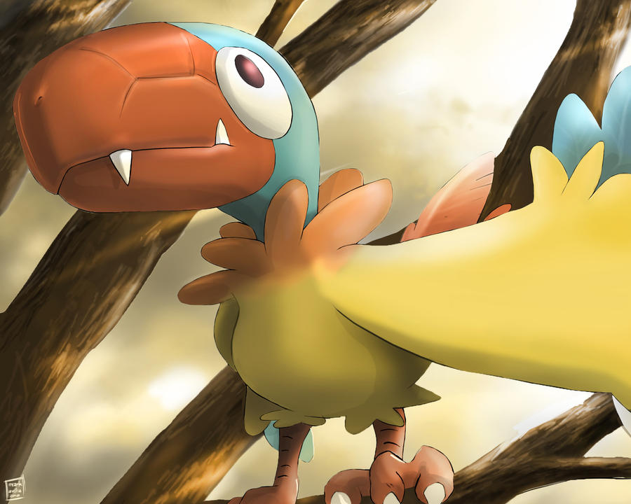 Pokemon: Aaken 'Japanese' by mark331