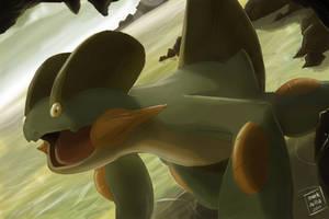 Pokemon: Swampert by mark331