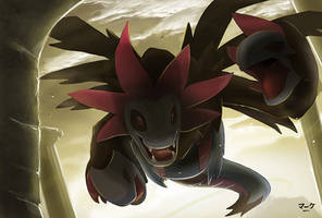 Pokemon: Hydreigon by mark331