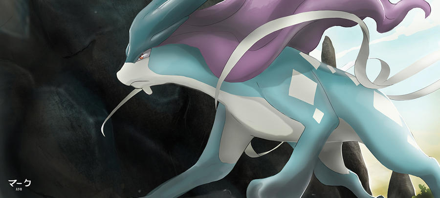 Legendary Pokemon Background Pokemon: Suicune by ma...