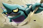 Pokemon: Shiny Toxicroak