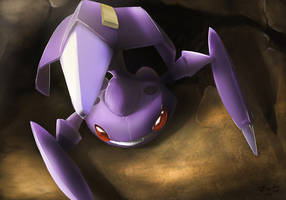 Pokemon: Genesect by mark331