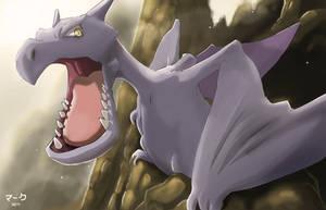 Pokemon: Aerodactyl by mark331