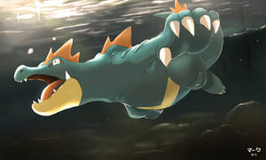 Pokemon: Feraligatr 2 by mark331