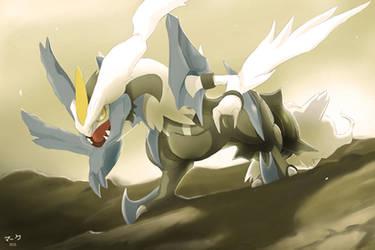 Pokemon: White Kyurem by mark331