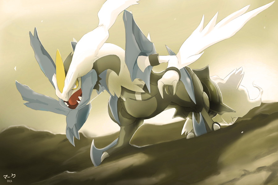 Pokemon: White Kyurem by mark331