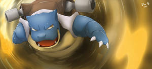 Pokemon: Blastoise 2 by mark331
