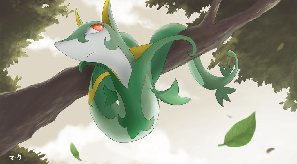 Pokemon: Serperior 2 by mark331 on DeviantArt