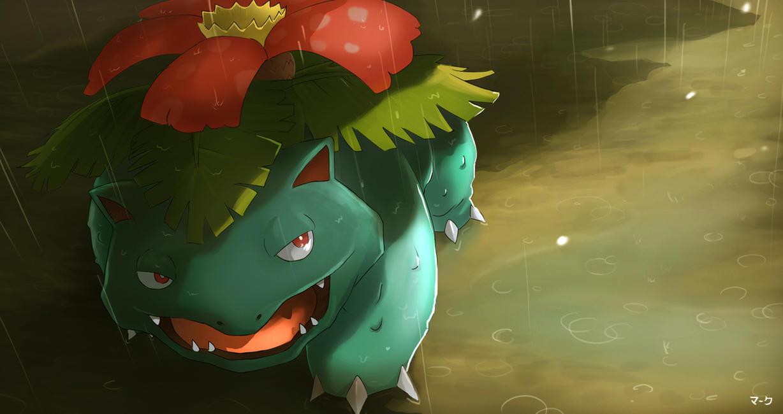 Pokemon: Venusaur by mark331