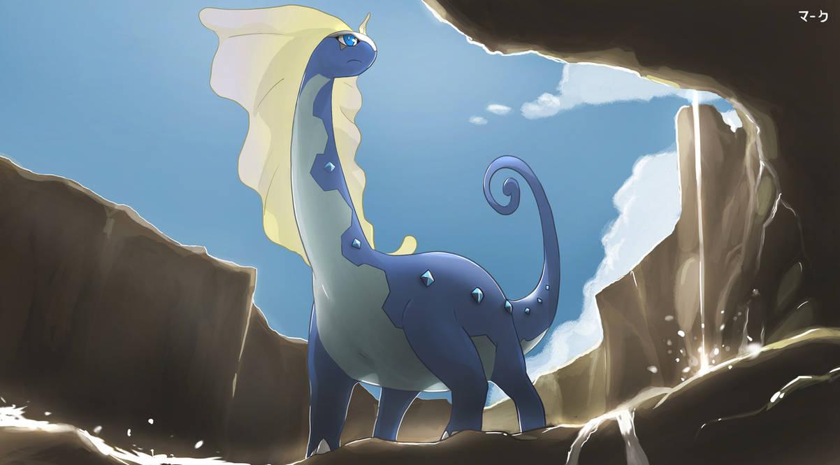 Pokemon: Aurorus by mark331