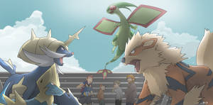 COMMISSION: Team Battle
