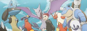 COMMISSION: Tom's  Pokemon Team
