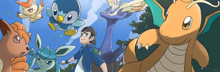 COMMISSION: Pokemon Team