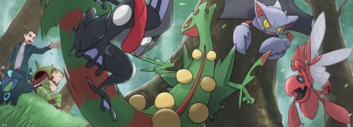 POKEMON: Forest Training by mark331