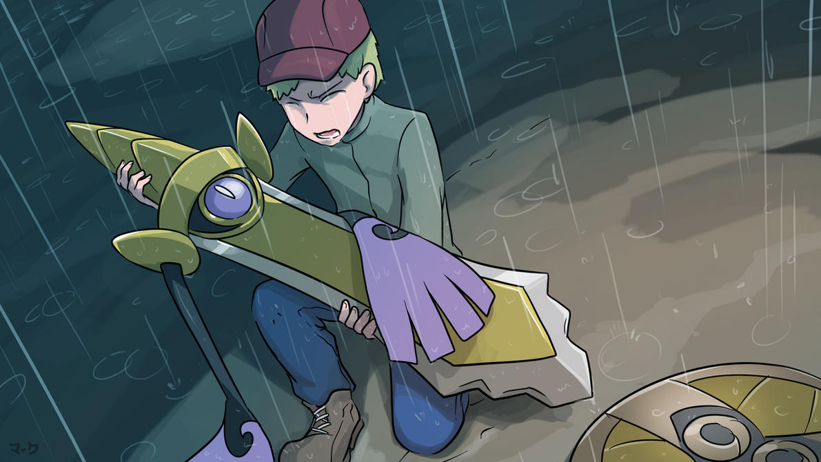 COMMISSION: Rain and Sadness by mark331
