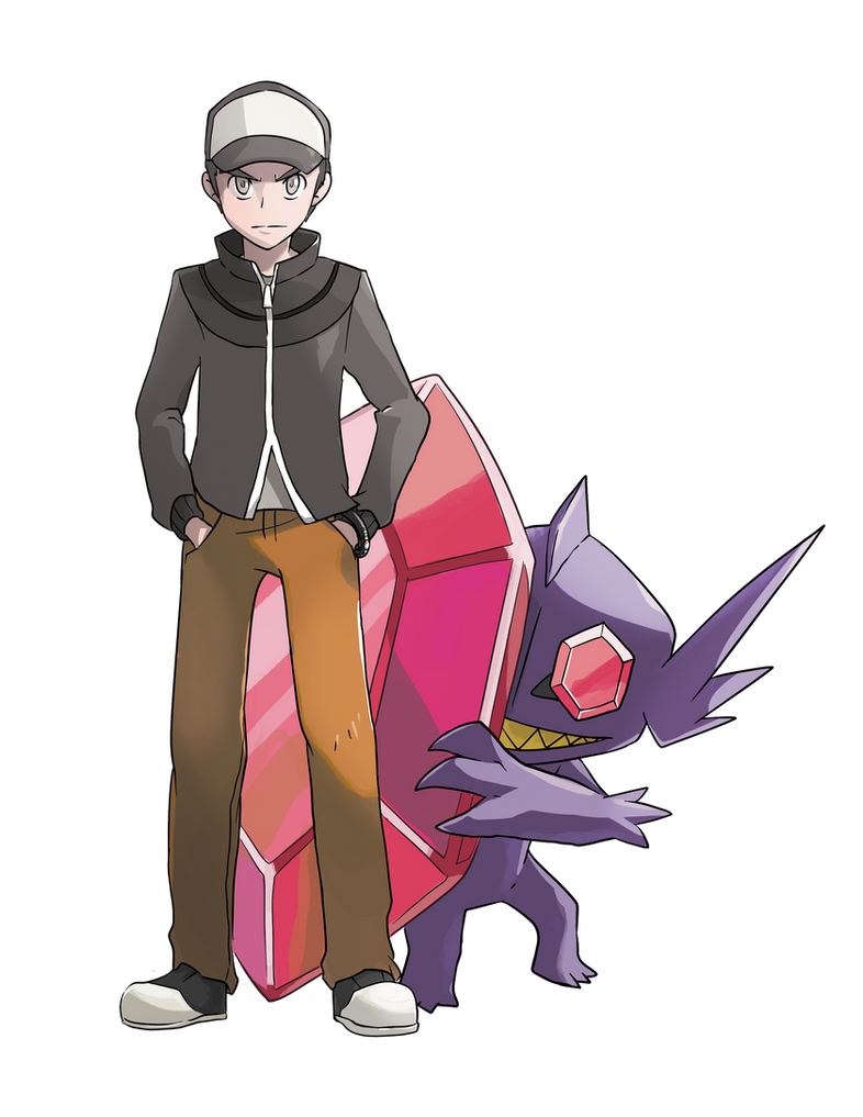 COMMISSION: Trainer with Mega Sableye by mark331