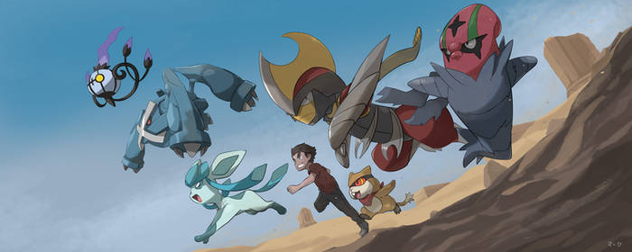 Unova Desert by mark331