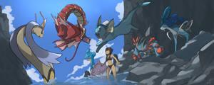 Water Pokemon Team