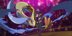 Trainer and Milotic