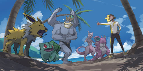 Team Goes to the Beach