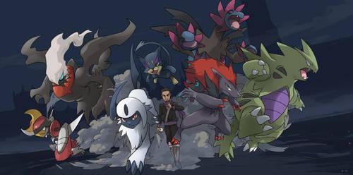Ninja and Team