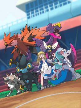 PARTICIPATING IN THE ALOLA LEAGUE