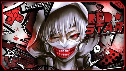 Tokyo Ghoul - Ken Kaneki : Red Star thumb for NXD by StrohhutTV