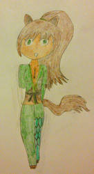 Timberwolfine: Warrior of Earth by Aerostar181