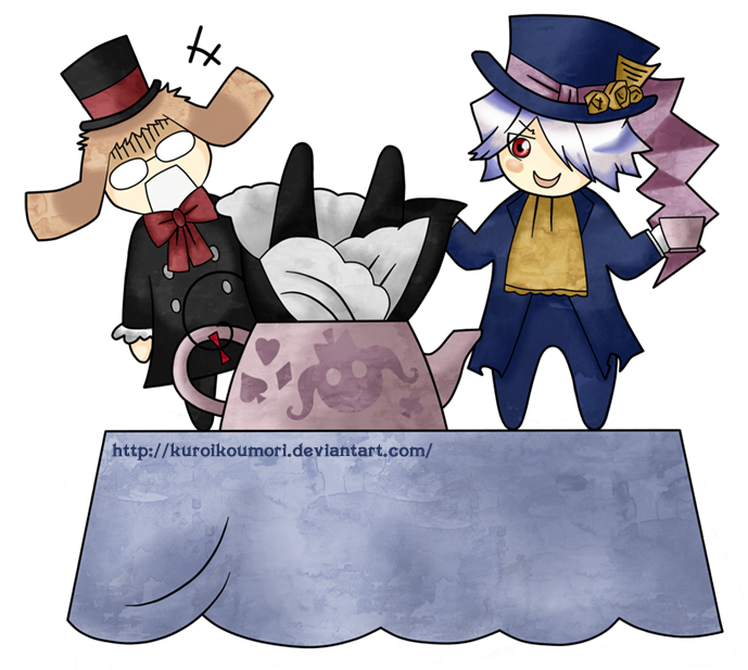 Pandora Hearts: Tea-Party by kuroikoumori