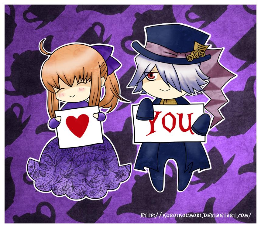 Pandora Hearts: Tea for Two by kuroikoumori