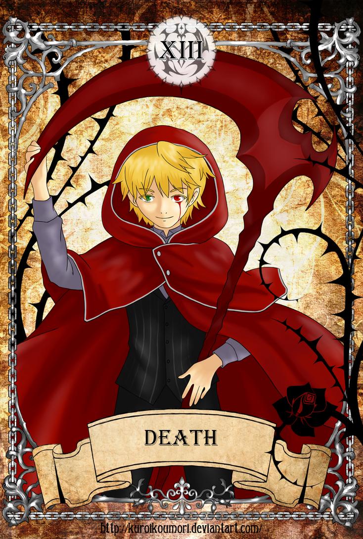 PH Tarot - Death by kuroikoumori