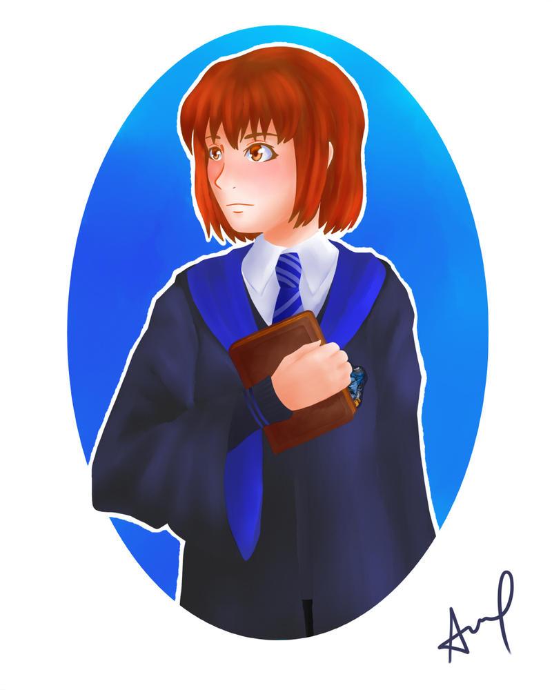 Hogwarts AU: Fueguchi Hinami by kuroikoumori
