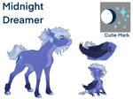 Luna / Midnight Dreamer Reference sheet