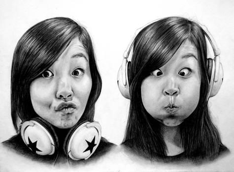 Self-Portrait --- Headphones