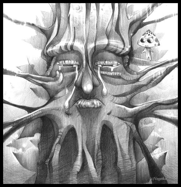 +The Tree Face+ by Vegetka